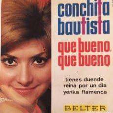 """Discos de vinilo: EUROVISIÓN 1965 - ESPAÑA. """"QUÉ BUENO, QUÉ BUENO"""". Lote 230077725"""