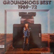 Discos de vinilo: GROUNDHOGS. BEST 1969-72. Lote 230097275