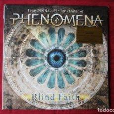 Discos de vinilo: PHENOMENA - BLIND FAITH. LP VINILO. NUEVO. PRECINTADO. ED. LTDA. 1000 COPIAS. VINILO VERDE TRANSPTE.. Lote 230104725
