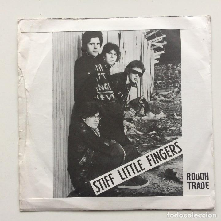 Discos de vinilo: Stiff Little Fingers – Suspect Device / Wasted Life UK,1978 - Foto 2 - 230108570