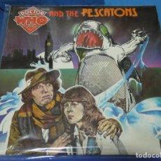 Discos de vinilo: CAXX109 LP BBC UK 1976 BUEN ESTADO DOCTOR WHO VS THE PESCATIONS ARGO. Lote 230116855
