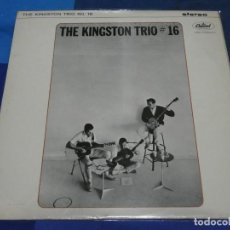 Discos de vinilo: CAXX109 UK FOLK STEREO CIRCA 1966 THE KINGSTON TRIO CIRCA 1965 MUY BUEN ESTADO. Lote 230151570