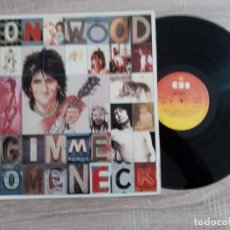 Discos de vinilo: RON WOOD.LP.GIMME SOME NECK1979 EDICION ESPAÑOLA CBS. .ORIGINAL.ROLLINGS STONES. Lote 230154595