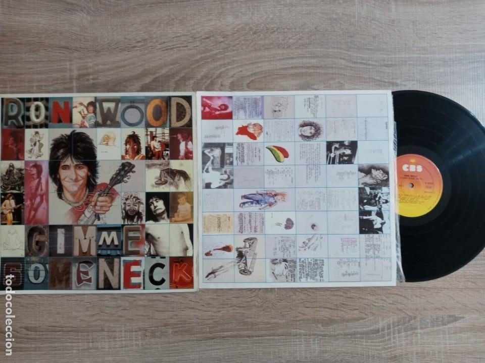 Discos de vinilo: RON WOOD.LP.GIMME SOME NECK1979 EDICION ESPAÑOLA CBS. .ORIGINAL.ROLLINGS STONES - Foto 2 - 230154595