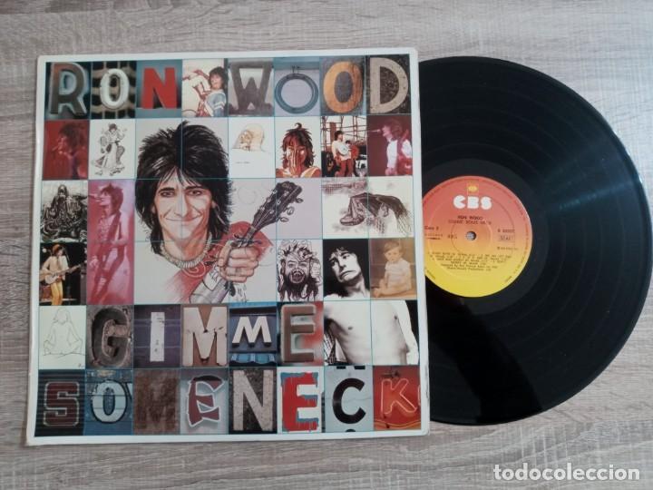 Discos de vinilo: RON WOOD.LP.GIMME SOME NECK1979 EDICION ESPAÑOLA CBS. .ORIGINAL.ROLLINGS STONES - Foto 3 - 230154595