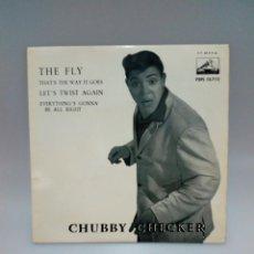 Discos de vinilo: CHUBBY CHECKER, THE FLY. Lote 230158085