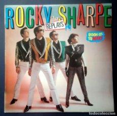 Discos de vinilo: ROCKY SHARPE & THE REPLAYS - ROCK-IT-TO MARS - LP CON ENCARTE 1980 - CHISWICK. Lote 230163525