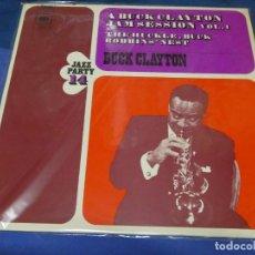 Disques de vinyle: CAXX109 LP JAZZ UK BUCK CLAYTON JAM SESSION VOL 1 CBS UK CIRCA 1972 BUEN ESTADO. Lote 230166220