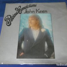 Discos de vinilo: CAXX109 LP JOHN KEEN RELACIONADO CON THE WHO UK LP 1973 PREVIOUS CONVICTIONS ALGUNA SEÑAL LEVE EN LP. Lote 230168155