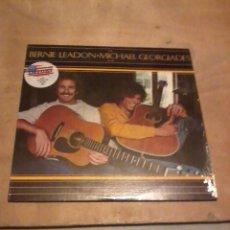 Discos de vinilo: BERNIE LEADON MICHAEL GEORGIADES LP USA 1977 LETRAS. Lote 230172325