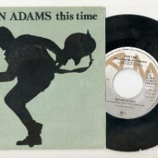 "Discos de vinilo: BRYAN ADAMS 7"" IMPORTACION 45 THIS TIME+FITS YA GOOD 1983 SINGLE VINILO POP ROCK CLASICO BUEN ESTADO. Lote 230173675"