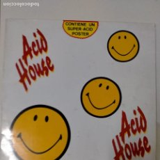 Discos de vinilo: ACID HOUSE - LP - VINILO -BLANCO Y NEGRO -1989 -WEST BAM-ARS-RALPHI ROSARIO-FAX YOURSELF-CAPELLA.... Lote 230211450