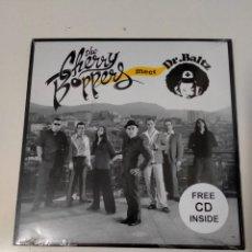Discos de vinilo: THE CHERRY BOPPERS MEET DR. BALTZ–YO NO QUIERO UN DOCTOR-EL PATÉTICO-SÓLO TIENES QUE ENCENDERME +CD. Lote 230212000