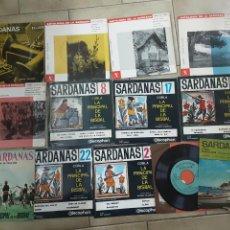 Discos de vinilo: LOTE DE 13 EP'S DE SARDANAS. Lote 230230745