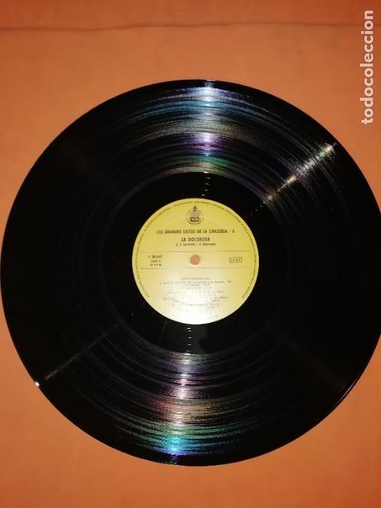 Discos de vinilo: LOS GRANDES EXITOS DE LA ZARZUELA. VOL. 6. LA DOLOROSA . JOSE SERRANO. HISPAVOX 1981 - Foto 8 - 230232715