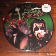 Disques de vinyle: (NUEVO) KING DIAMOND - NO PRESENTS FOR CHRISTMAS EP - PICTURE DISC (EDICIÓN LIMITADA A 1000 COPIAS). Lote 230236045