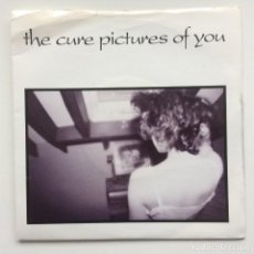 Discos de vinilo: THE CURE ‎– PICTURES OF YOU / PRAYERS FOR RAIN UK,1990. Lote 230273685
