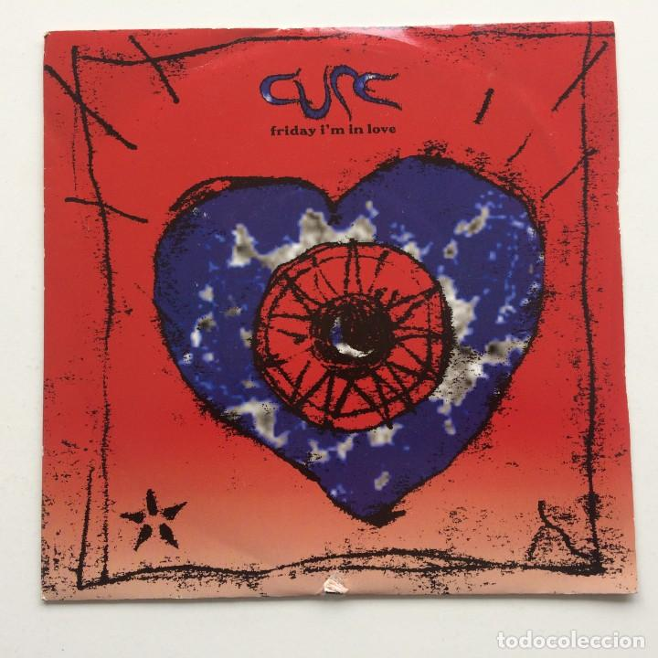 CURE ‎– FRIDAY I'M IN LOVE / HALO UK,1992 (Música - Discos - Singles Vinilo - Punk - Hard Core)