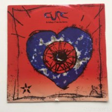 Discos de vinilo: CURE ‎– FRIDAY I'M IN LOVE / HALO UK,1992. Lote 230283450