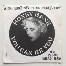 Discos de vinilo: HONEY BANE ‎– YOU CAN BE YOU UK,1979. Lote 230284355