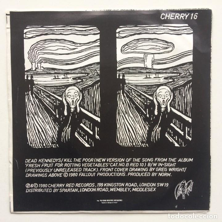 Discos de vinilo: Dead Kennedys – Kill The Poor / In-Sight UK,1980 - Foto 2 - 230287470