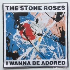 Discos de vinilo: THE STONE ROSES ‎– I WANNA BE ADORED / WHERE ANGELS PLAY UK,1991. Lote 230288750
