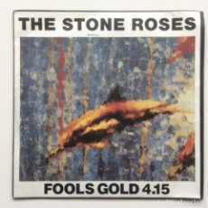 Discos de vinilo: THE STONE ROSES – WHAT THE WORLD IS WAITING FOR / FOOLS GOLD UK,1989. Lote 230289100