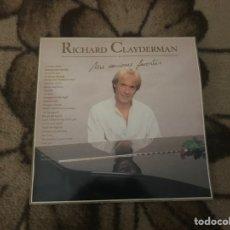 Discos de vinilo: RICHARD CLAYDERMAN LP MIS CANCIONES FAVORITAS. Lote 230298455