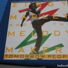 Discos de vinilo: BOXX111 MAXISINGLE REGGAE UK ZIGGY MARLEY AND THE MELODY MAKERS TOMORROW PEOPLE ESTADO CORRECTO. Lote 230302210