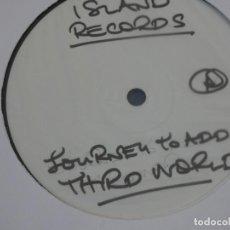 Discos de vinilo: BOXX111 MAXI SINGLE REGGAE PARECE TEST PRESSING THIRD WORLD JOURNEY TO AEDIS AEBBA. Lote 230302320