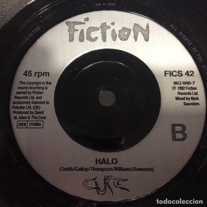 Discos de vinilo: Cure – Friday Im In Love / Halo UK,1992 - Foto 4 - 230283450