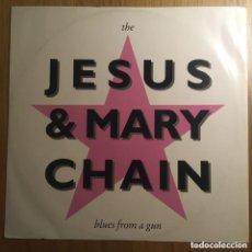 Discos de vinilo: THE JESUS AND MARY CHAIN MAXI BLUES FROMA GUN BIEN CONSERVADO. Lote 230317235