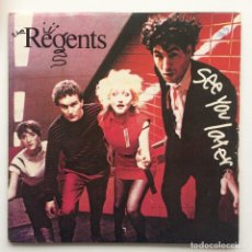 Discos de vinilo: THE REGENTS ‎– SEE YOU LATER / OH TERRY UK,1980. Lote 230317560
