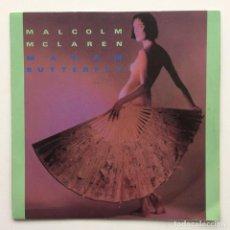 Discos de vinilo: MALCOLM MCLAREN – MADAM BUTTERFLY / FIRST COUPLE OUT UK,1984. Lote 230318280
