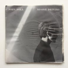 Discos de vinilo: JOHN FOXX – NO-ONE DRIVING 2 VINYL UK,1980. Lote 230321730
