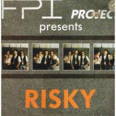 Discos de vinilo: FPI PROJECT - RISKY - MAXI SINGLE 1990. Lote 287703643