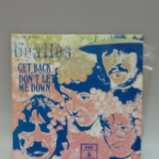 Discos de vinilo: THE BEATLES GET BACK. Lote 230329340