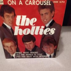 Discos de vinilo: THE HOLLIES; ON A CAROUSEL,WHAT WENT WRONG + 2 ED. ESPAÑA 1967 EP. Lote 230329480