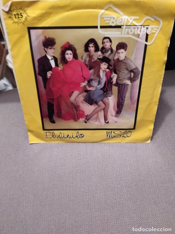 BETTY TROUPE: EL VINILO - MS 20 ARIOLA 1983 FOTOS GORKA DUO (Música - Discos - Singles Vinilo - Grupos Españoles de los 70 y 80)