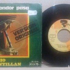 Discos de vinilo: FACIO SANTILLAN / EL CONDOR PASA / SINGLE 7 INCH. Lote 230334060