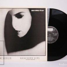 Disques de vinyle: DISCO MAXI SINGLE VINILO - B-MOVIE. NOWHERE GIRL - FONOGRAM - ESPAÑA, 1982. Lote 230344120