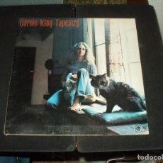 Discos de vinilo: CAROLE KING LP TAPESTRY. Lote 230347325