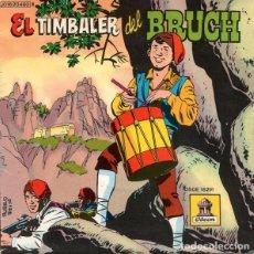 Discos de vinilo: EL TIMBALER DEL BRUCH - DISCO-CUENTO ODEON 1959 EL TIMBALER DEL BRUCH NARRACIÓN HISTORICA. Lote 230382620