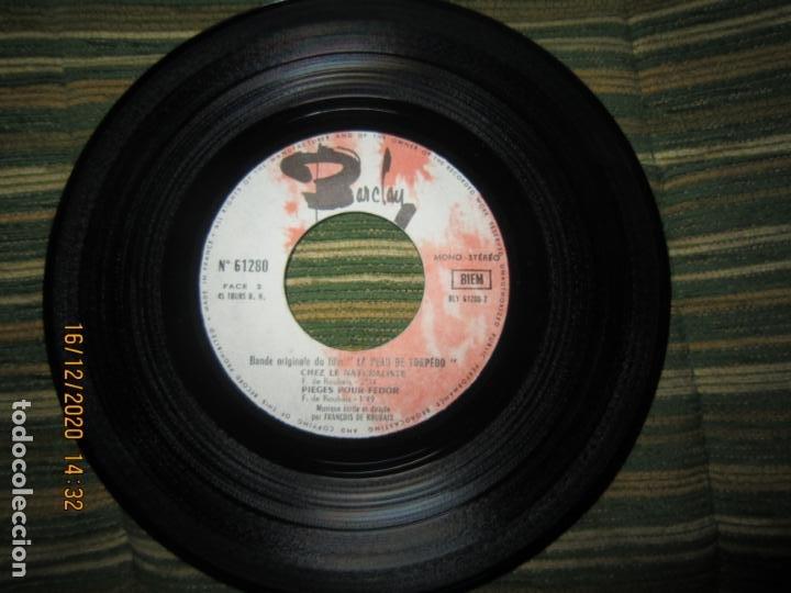 Discos de vinilo: LA PEAU DE TORPEDO EP - B.S.O. - ORIGINAL FRANCES - PROMOCIONAL - BARCLAY 1970 - STEREO - - Foto 5 - 230390065