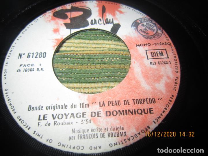 Discos de vinilo: LA PEAU DE TORPEDO EP - B.S.O. - ORIGINAL FRANCES - PROMOCIONAL - BARCLAY 1970 - STEREO - - Foto 6 - 230390065
