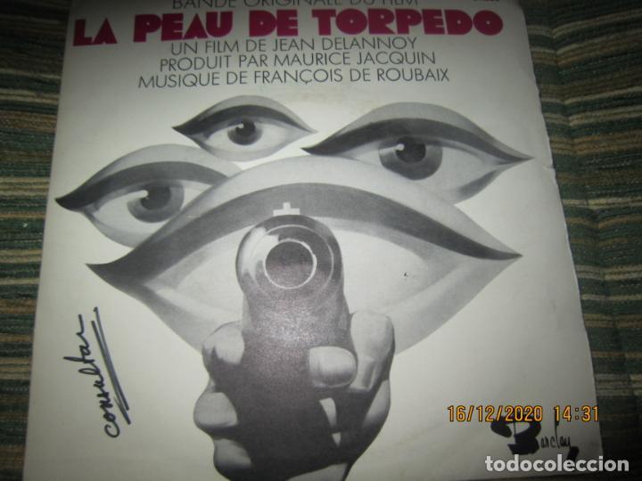 Discos de vinilo: LA PEAU DE TORPEDO EP - B.S.O. - ORIGINAL FRANCES - PROMOCIONAL - BARCLAY 1970 - STEREO - - Foto 9 - 230390065