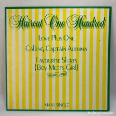 Discos de vinilo: MAXI SINGLE HAIRCUT ONE HUNDRED - LOVE PLUS ONE - VERSIÓN LARGA - ESPAÑA - AÑO 1982. Lote 230395110