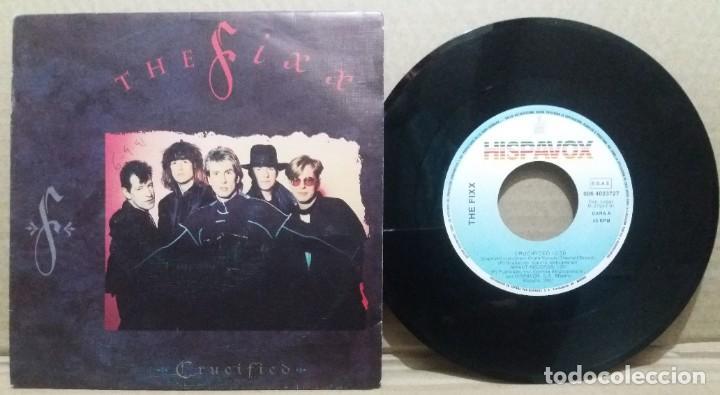 THE FIXX / CRUCIFIED / SINGLE 7 INCH (Música - Discos - Singles Vinilo - Pop - Rock Internacional de los 90 a la actualidad)