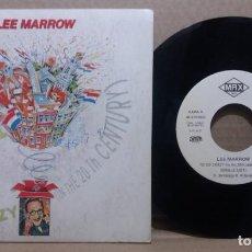 Discos de vinil: LEE MARROW / TO GO CRAZY / SINGLE 7 INCH. Lote 230409980