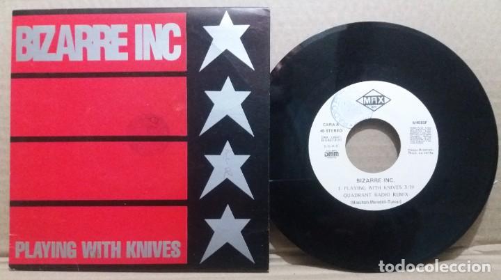 BIZARRE INC / PLAYING WITH KNIVES / SINGLE 7 INCH (Música - Discos - Singles Vinilo - Pop - Rock Internacional de los 90 a la actualidad)